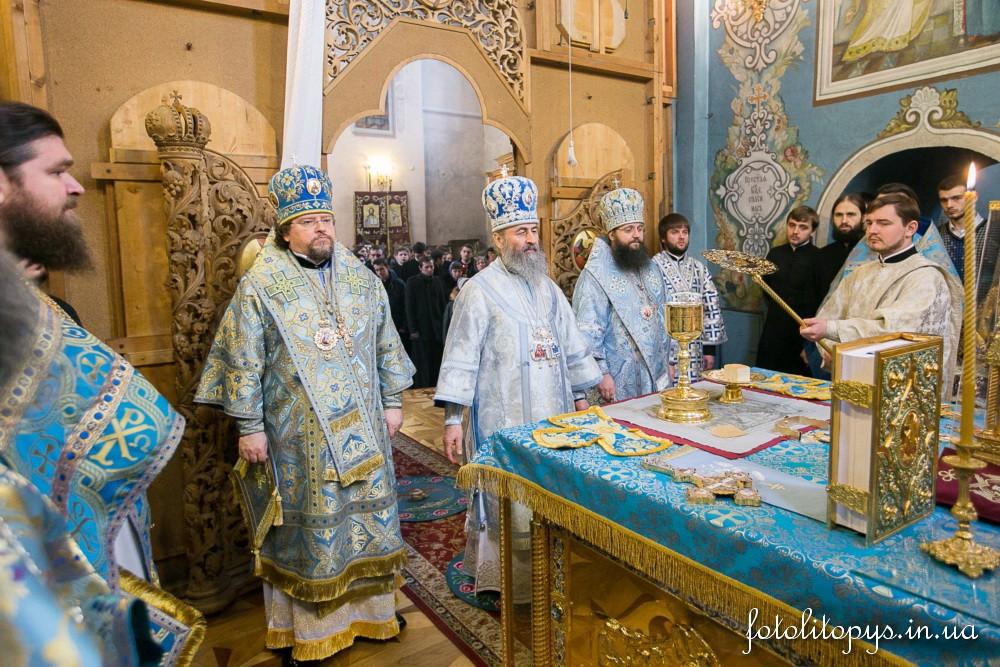 У свято Стрітення Блаженніший Митрополит Онуфрій звершив Літургію в нашому храмі