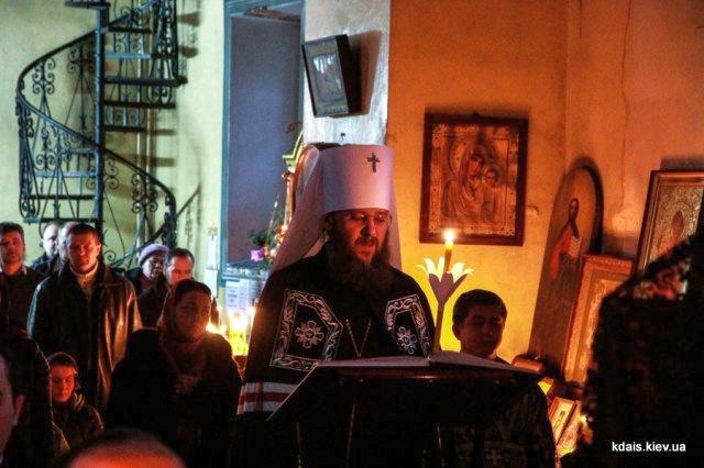 Митрополит Антоній звершив читання канону прп.Андрія Критського в нашому храмі