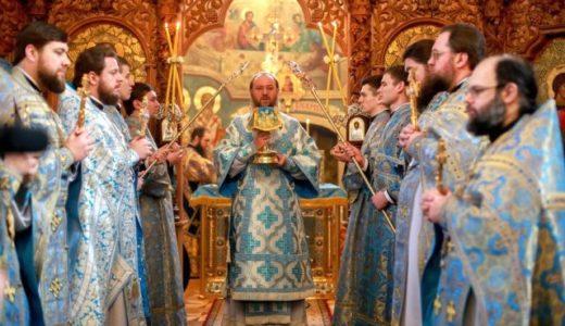Ректор Київських духовних шкіл звершив Божественну літургію у нашому храмі (+ВІДЕО)