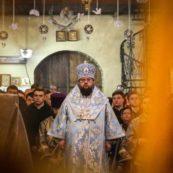 Єпископ Білогородський Сильвестр звершив літургію в нашому храмі у день виводу військ воїнів-інтернаціоналістів