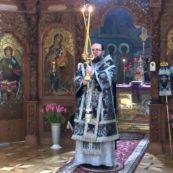 Єпископ Білогородський Сильвестр звершив Літургію у нашому храмі